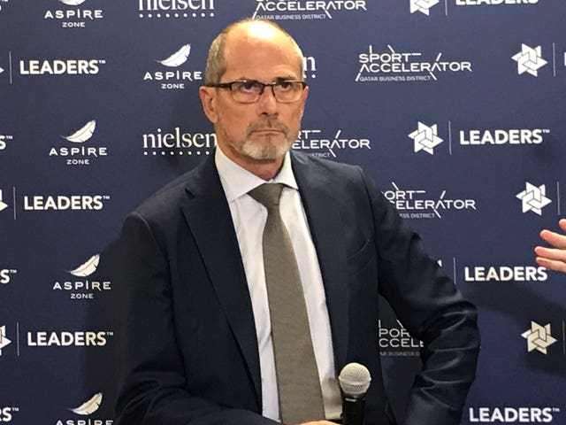Lars-Christer Olsson is the outgoing president of the European Leagues group