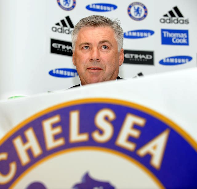 Carlo Ancelotti signed a three-year deal at Stamford Bridge