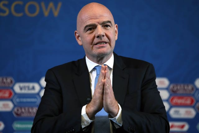 FIFA president Gianni Infantino has promised a