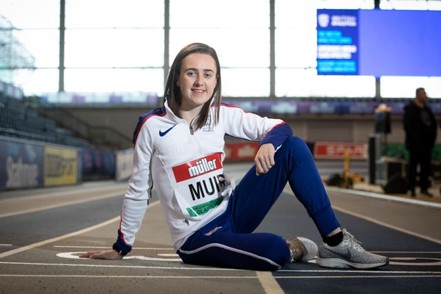 Laura Muir knows the Emirates Arena well