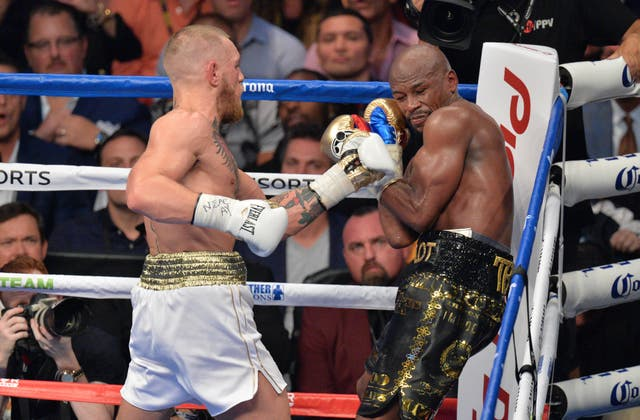 Floyd Mayweather stopped Conor McGregor in the 10th round in Vegas