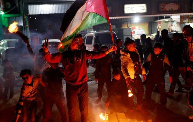 Palestinians Israel US
