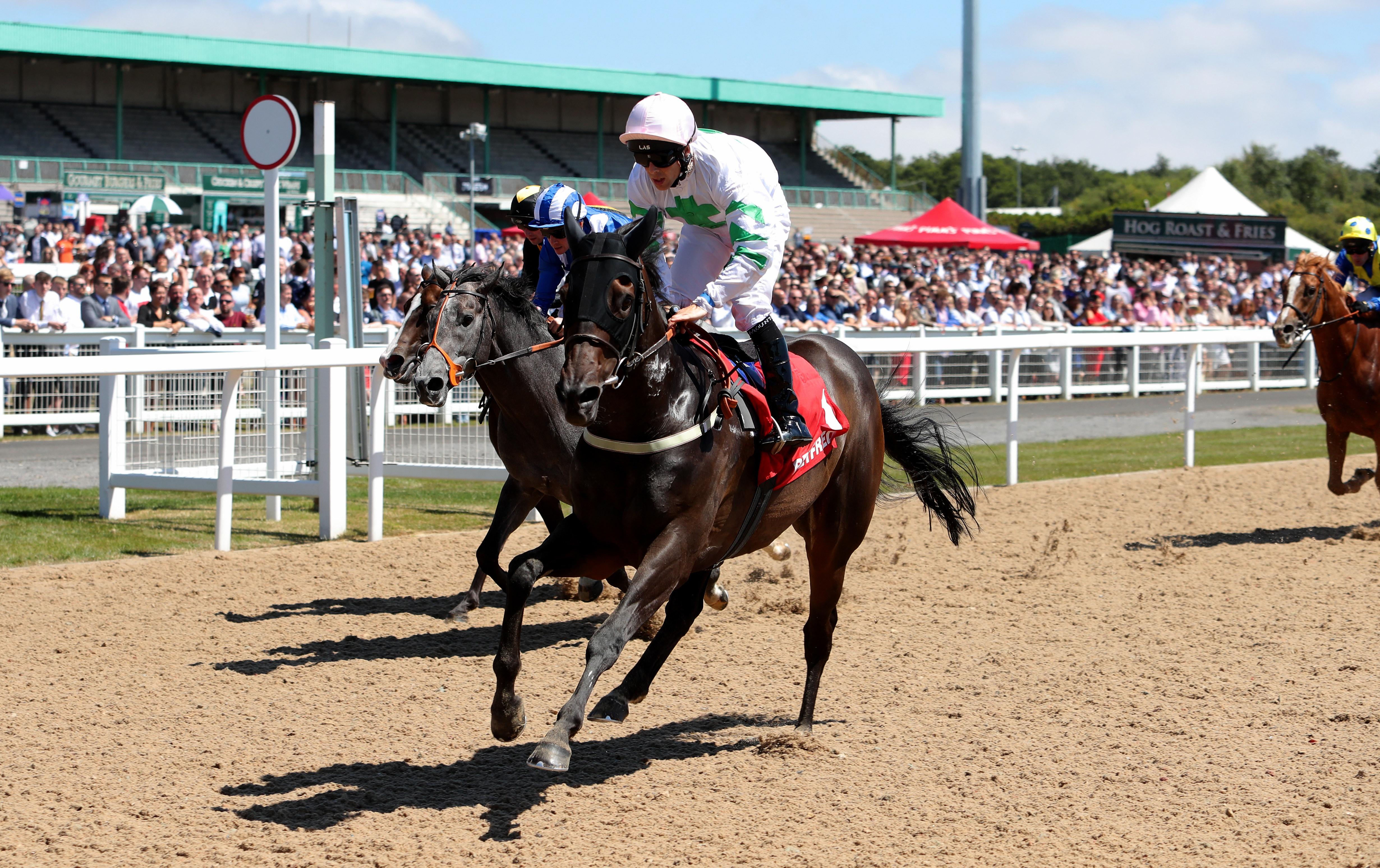 Above The Rest shone in the Chipchase Stakes at Newcastle