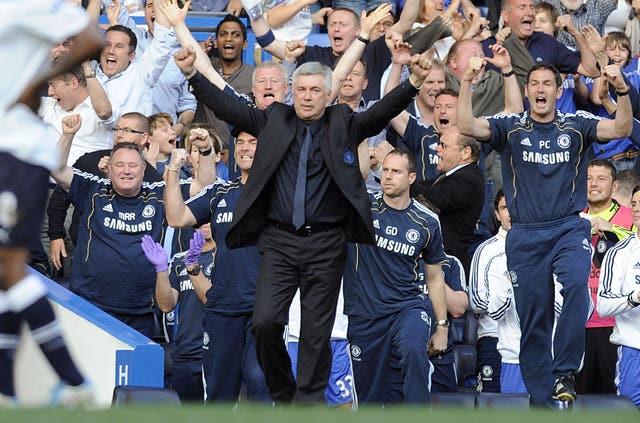 Soccer – Barclays Premier League – Chelsea v Tottenham Hotspur – Stamford Bridge