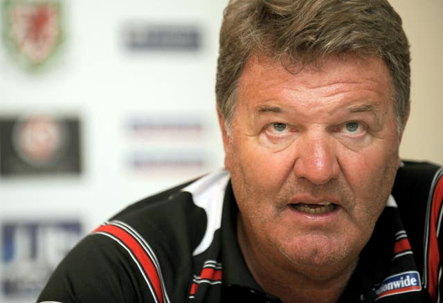 Toshack went on to become Wales manager after several stints in Spain