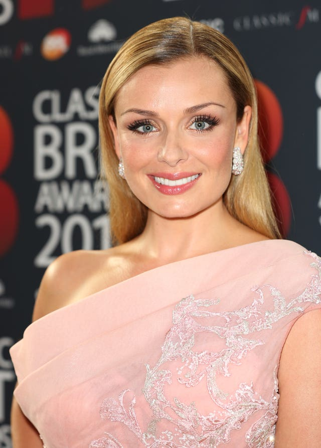 Katherine Jenkins at the Classic Brit Awards 2018
