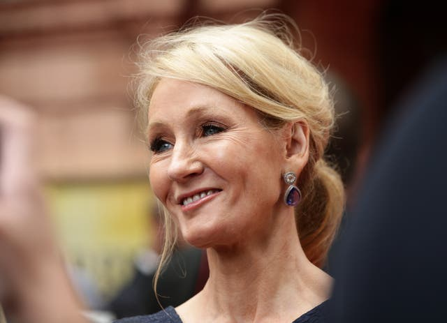 JK Rowling  at an event