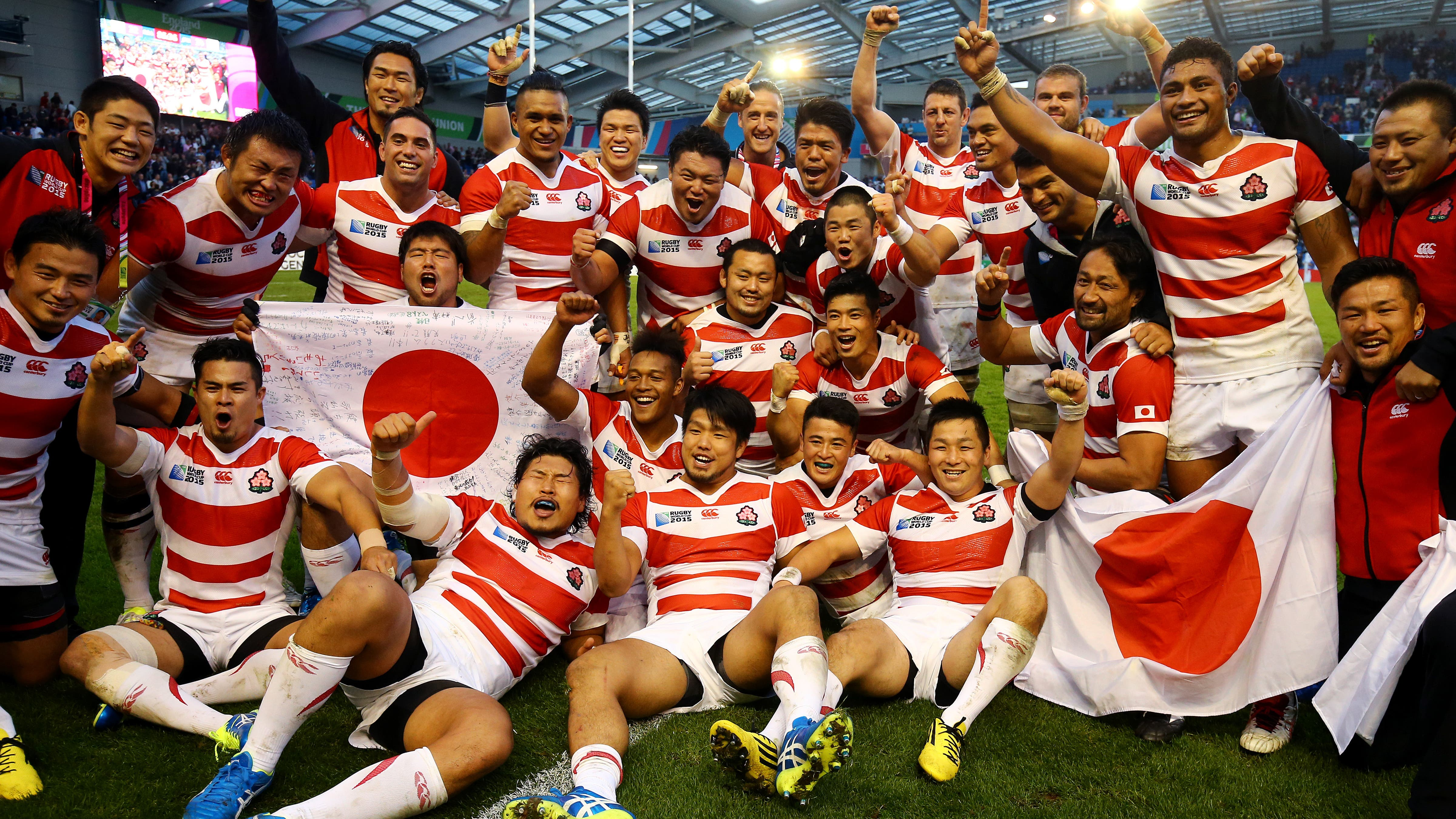 On This Day In 2015 Japan Pull Off Biggest Shock In Rugby World Cup History Bt Sport