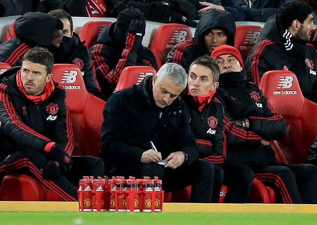 Jose Mourinho's last match in charge of Manchester United came in a 3-1 loss at Liverpool