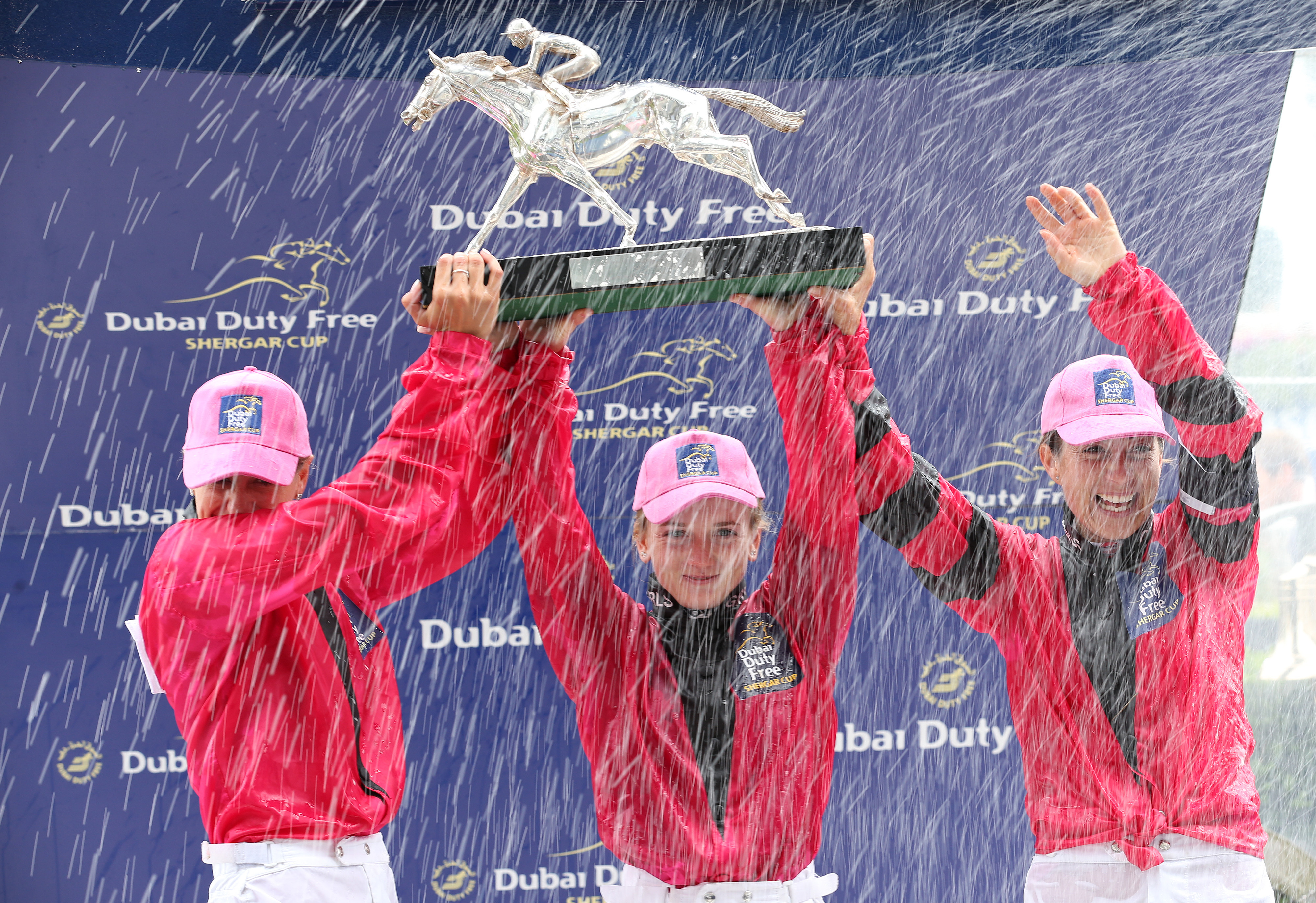 The Girls are the defending champions in this year's Shergar Cup
