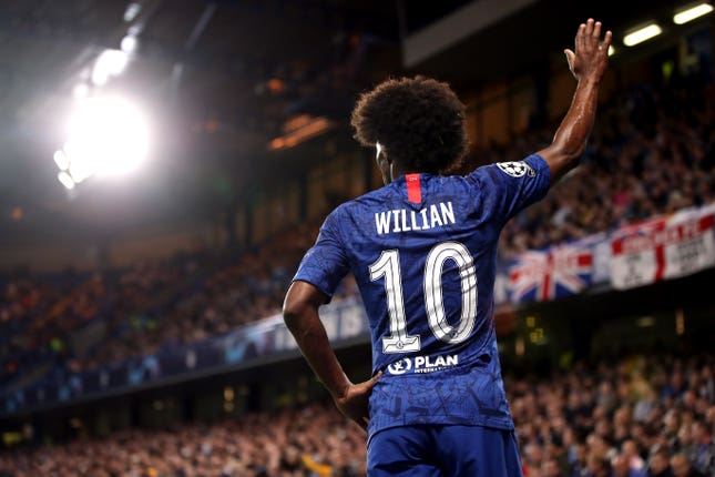 At times Willian dazzled for the Blues