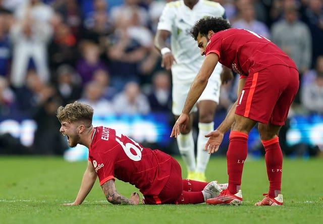 Struijk's challenge left Elliott with a fracture dislocation of his left ankle (Mike Egerton/PA).