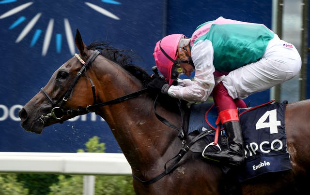 Enable bowed out in October - but not before setting a new King George benchmark
