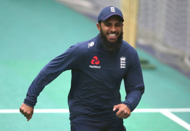 Adil Rashid has a sore shoulder
