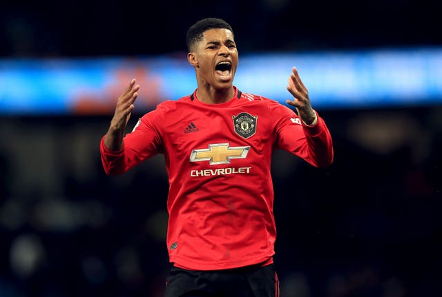 Marcus Rashford has won the FA Cup, League Cup and Europa League with United