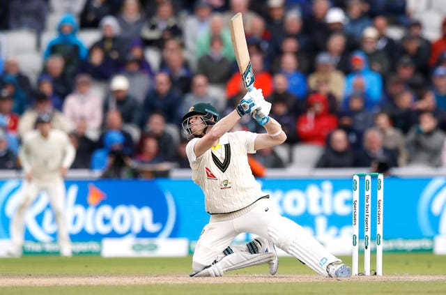 Smith produced some remarkable shots en route to his double century
