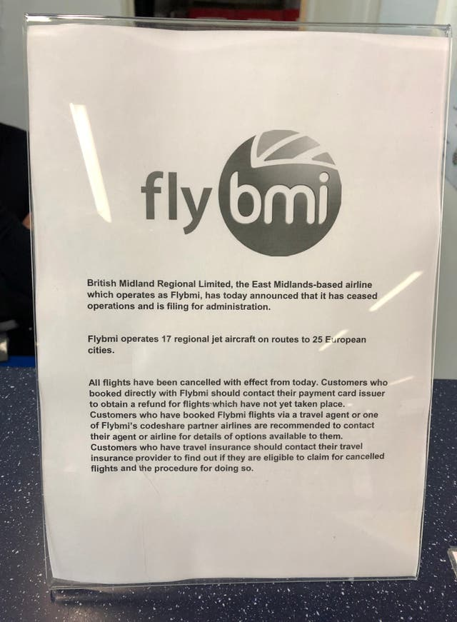 FlyBMI files for administration