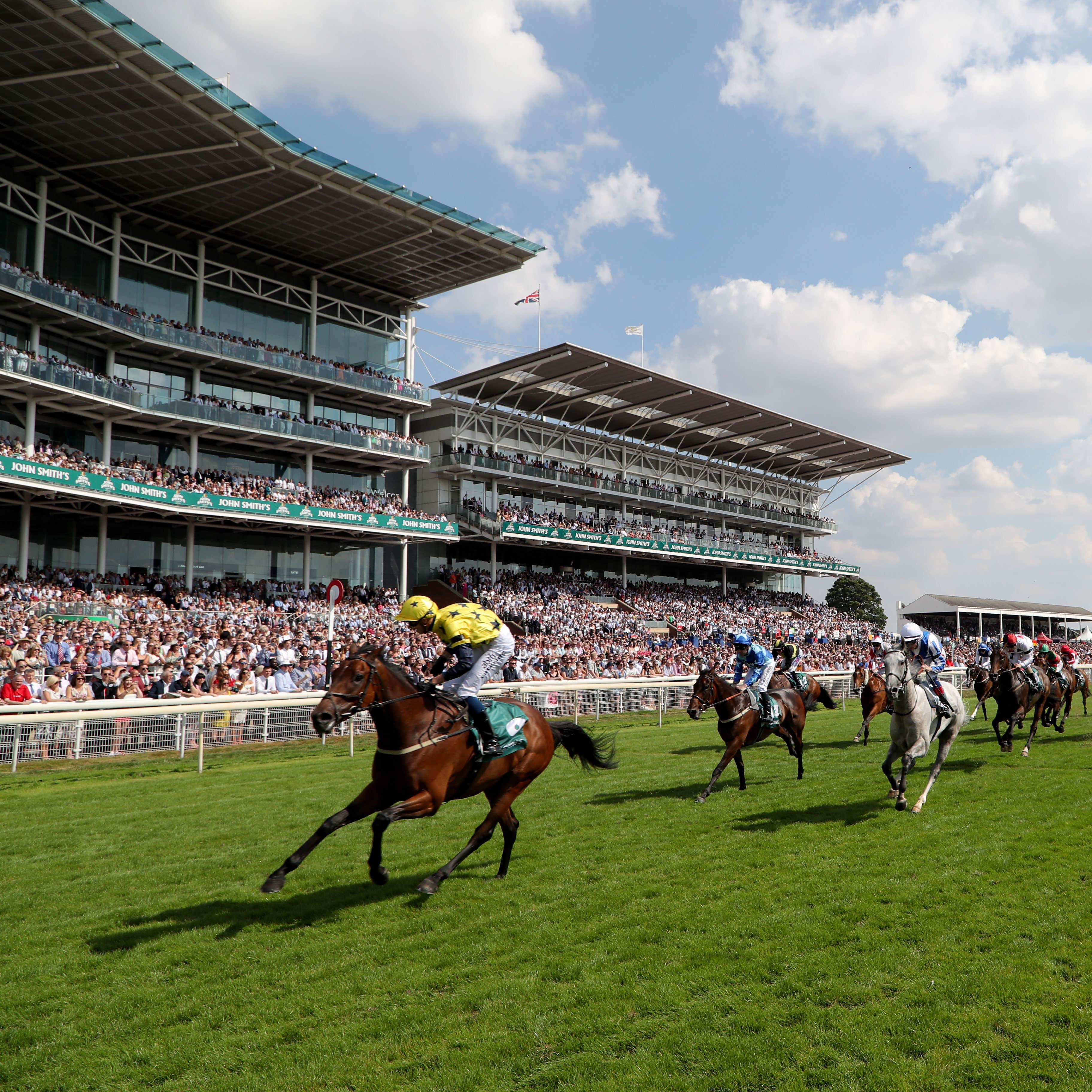 Euchen Glen and Alistair Rawlinson win the 59th John Smith's Cup at York