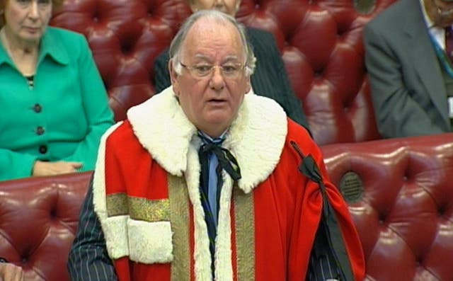 Lord Martin introduced to the House of Lords