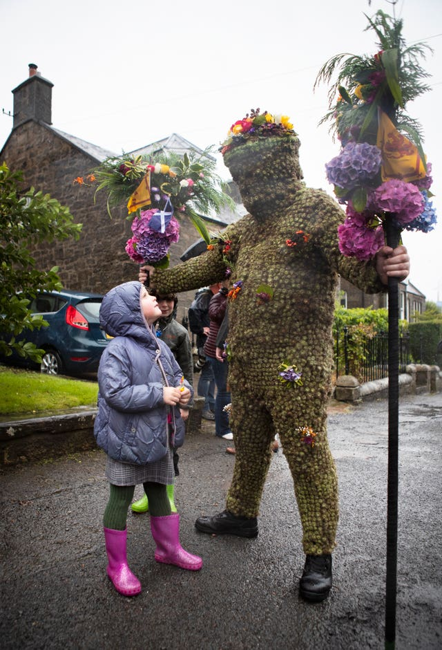 South Queensferry Burryman