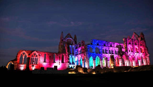 Halloween at Whitby Abbey