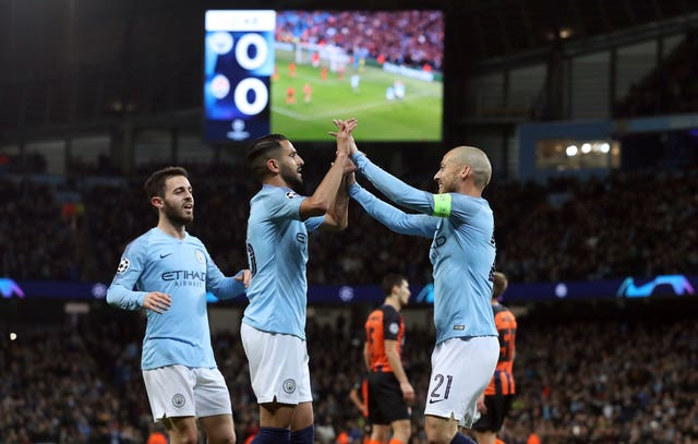 It was a fine night for City as they ran riot