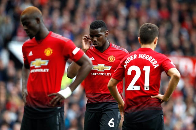 Manchester United have suffered a disappointing season on the pitch