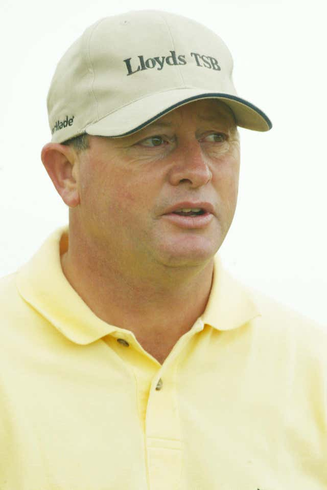 Golf Open Ian Woosnam