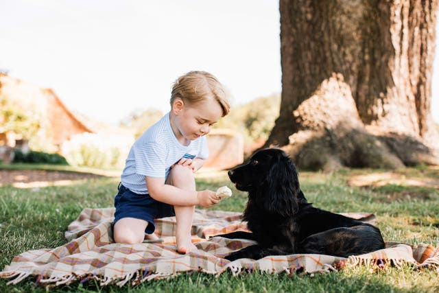Prince George's third birthday
