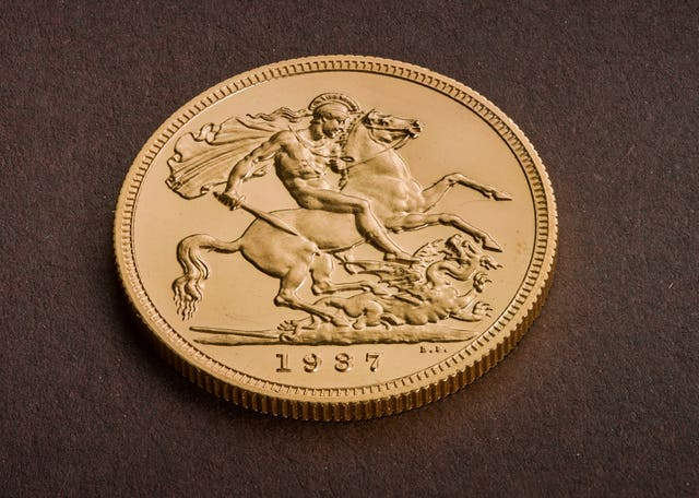 Edward VIII Sovereign coin