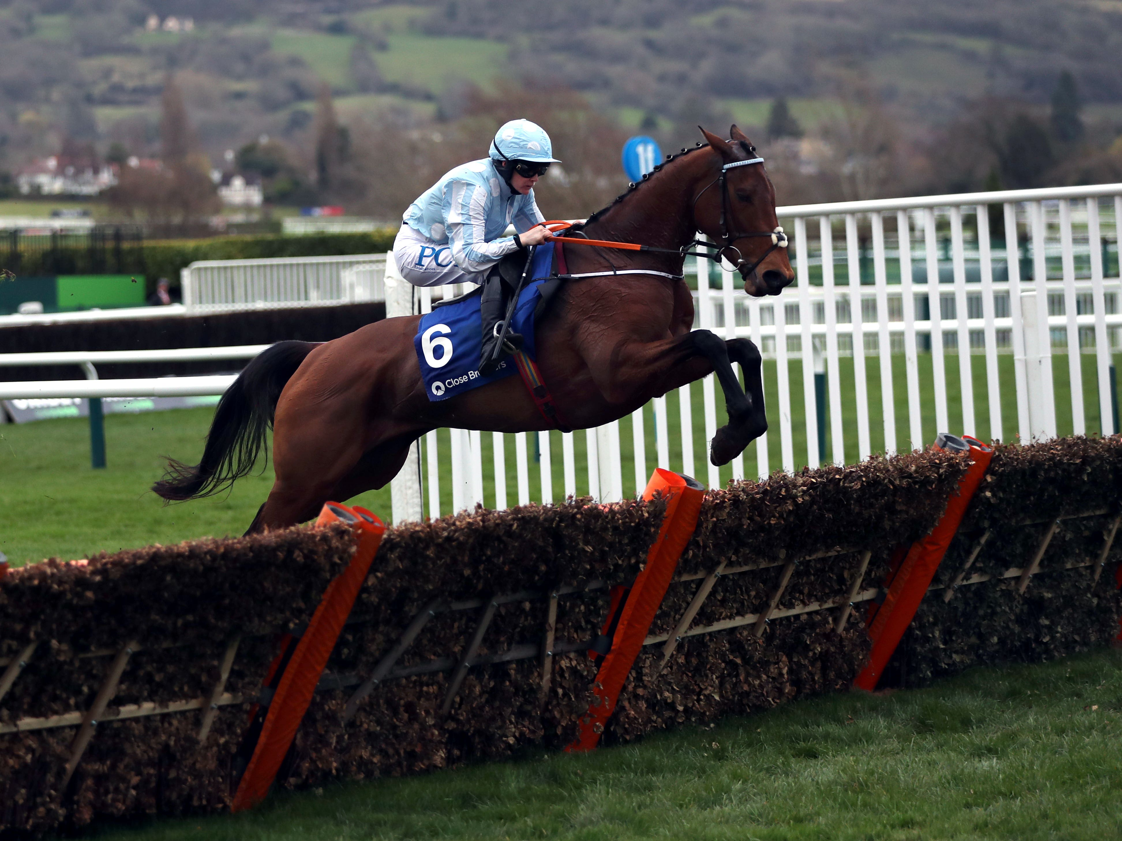 The unbeaten Honeysuckle bids to repeat last year's victory in the Hatton's Grace Hurdle (Simon Cooper/PA)
