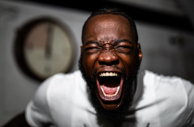 Deontay Wilder Photocall – Fitzroy Lodge Gym