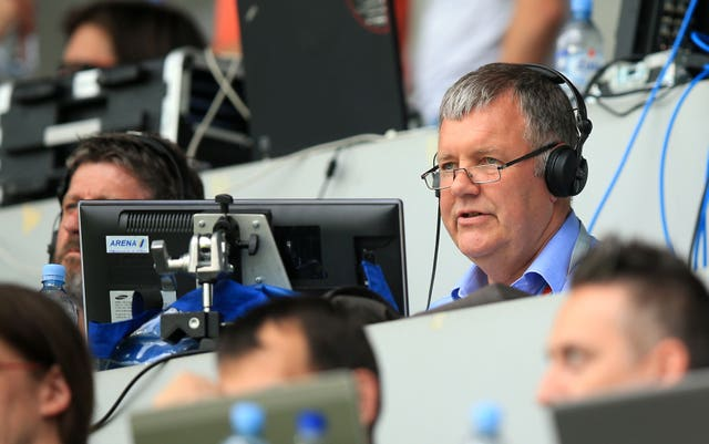 Clive Tyldesley will continue to cover matches for ITV Sport.