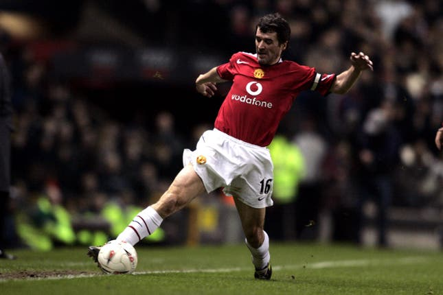 Roy Keane joined Manchester United from Nottingham Forest in 1993