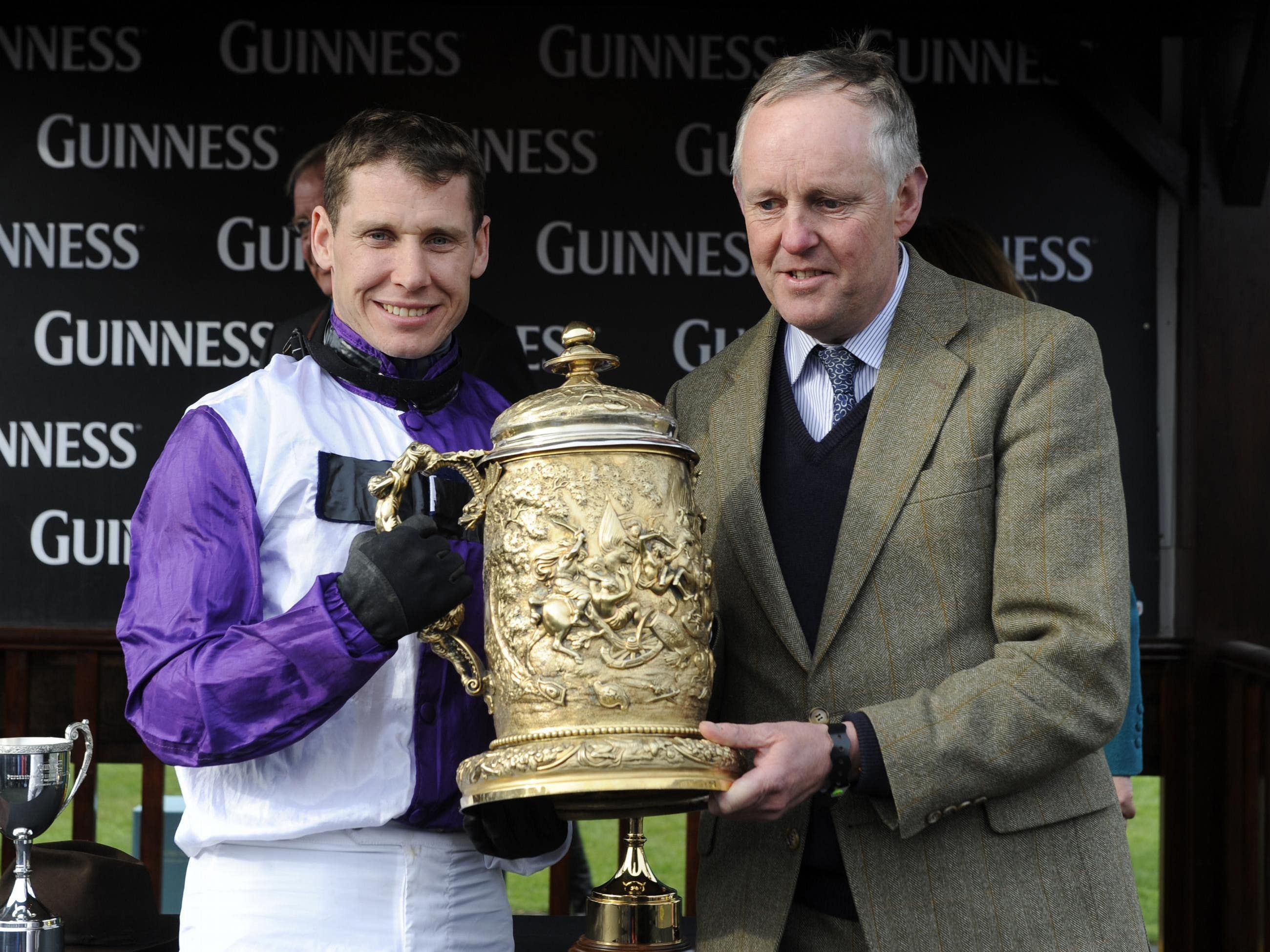 Richard Johnson (left) and Philip Hobbs have enjoyed huge success together (Barry Cronin/PA)