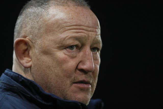 Steve Diamond's Sale are second in the Gallagher Premiership (Richard Sellers/PA).