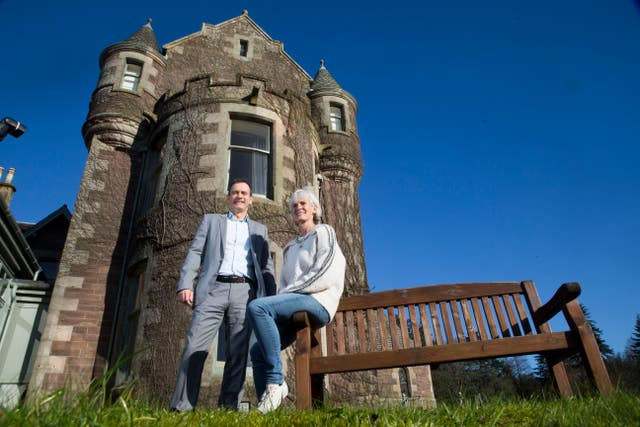 Judy Murray and Blane Dodds, Tennis Scotland chief executive