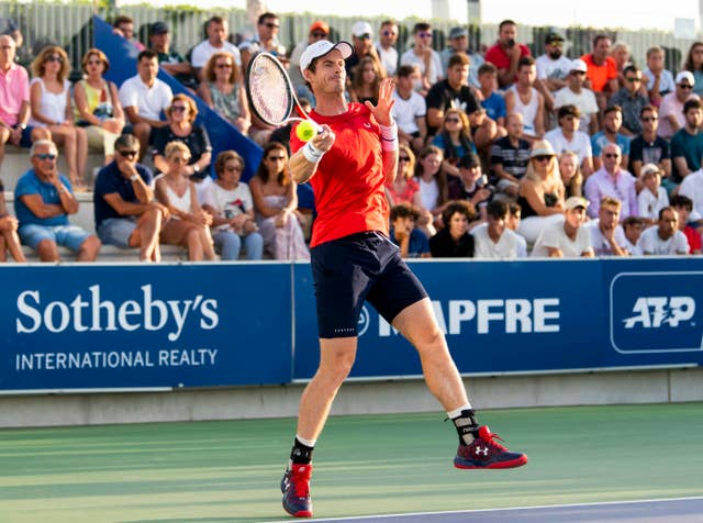 Andy Murray Handout Photo