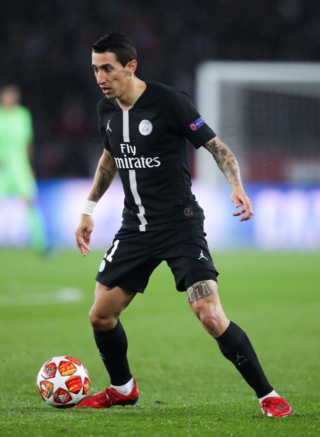 Paris Saint-Germain's Angel Di Maria returned to haunt former club Manchester United