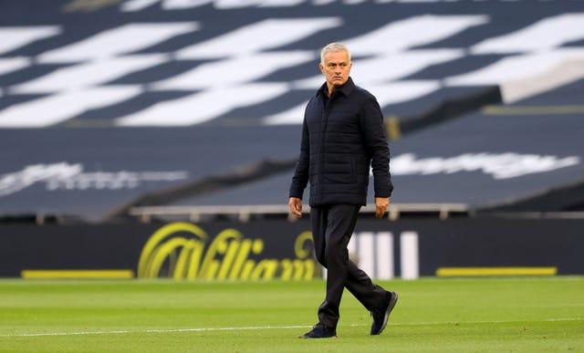 Tottenham manager Jose Mourinho