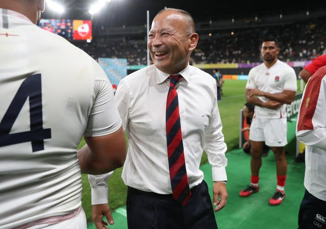 England coach Eddie Jones has made 10 changes from the side that beat Tonga