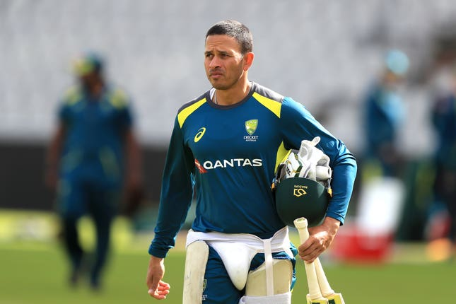 Usman Khawaja has been dropped for the Old Trafford Test
