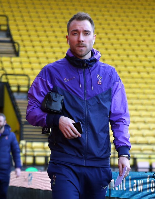 Wantaway Dane Eriksen was involved at Watford last weekend