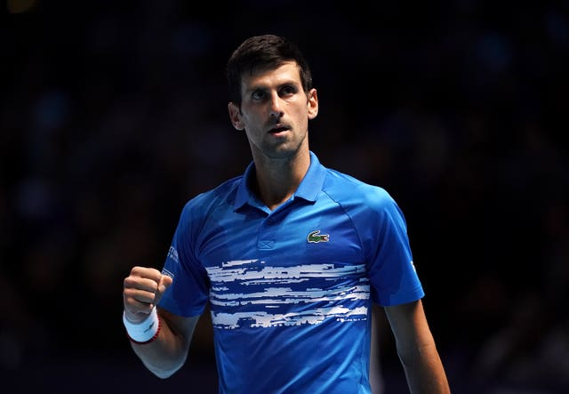Djokovic roared back to win in a little more than three hours (John Walton/PA)