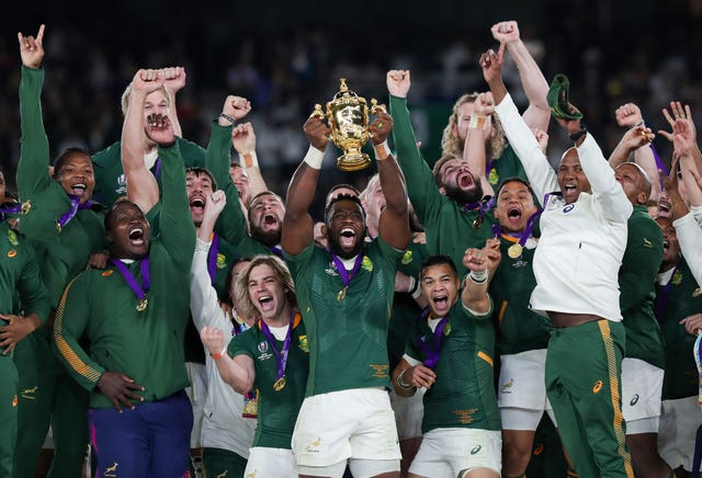 South Africa are the reigning world champions