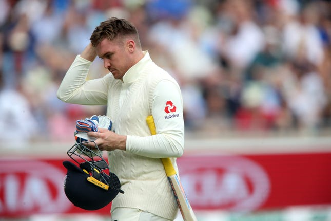 Jason Roy has something to think about