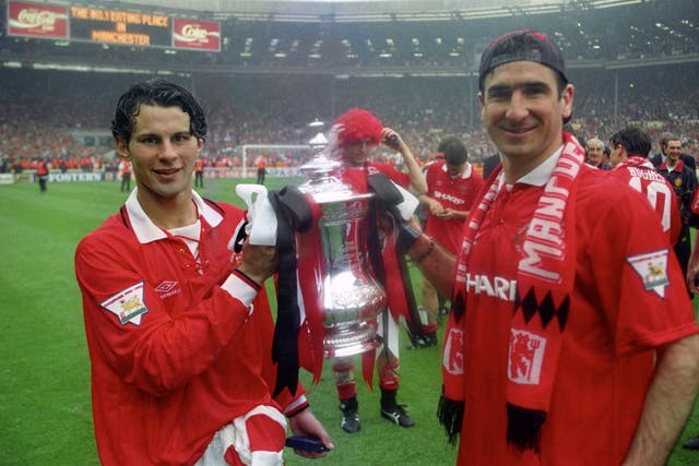 Ryan Giggs (left) boasts one of the most decorated careers in football history