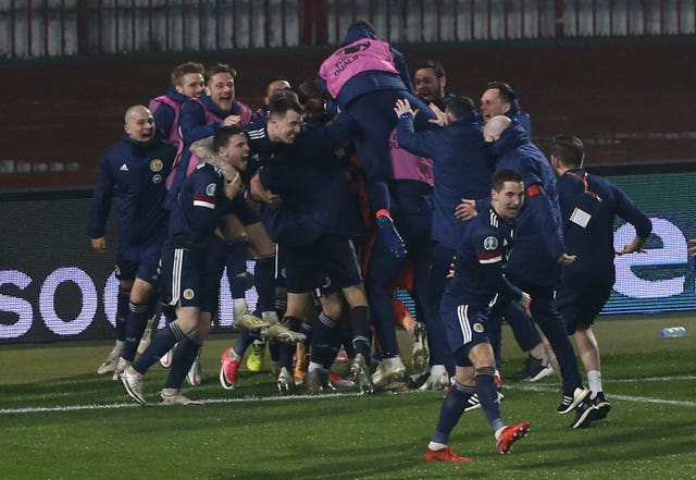 Scotland are aiming to reach the 2022 World Cup after qualifying for Euro 2020
