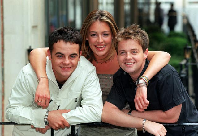 Cat Deeley and Ant and Dec hosted SM:TV Live