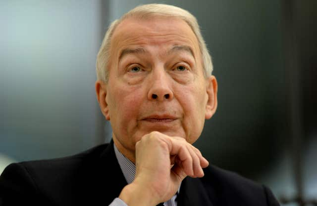 Committee chairman Frank Field expressed concern about how pension scheme members were treated (Anthony Devlin/PA)